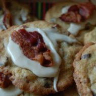 bacon maple chocolate chip cookies