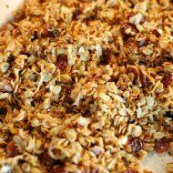 honey citrus coconut granola