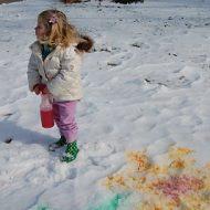 snow paint