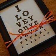 anniversary eye chart