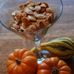 roasted pumpkin seeds x 2