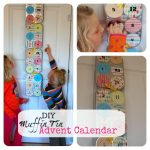 DIY Muffin Tin Advent Calendar