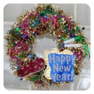 New Year's Eve Wreath