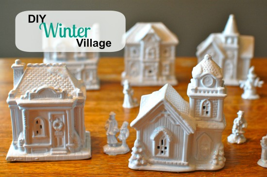 Diy winter village solutioingenieria Images