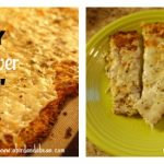 Cheesy Cauliflower Garlic 'Bread' Sticks