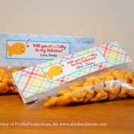 "Printable O""Fish""Al Happy Valentines Day Card"