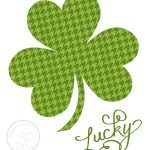 Free Printable :: St. Patrick's Day Art