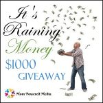 It's raining money :: giveaway