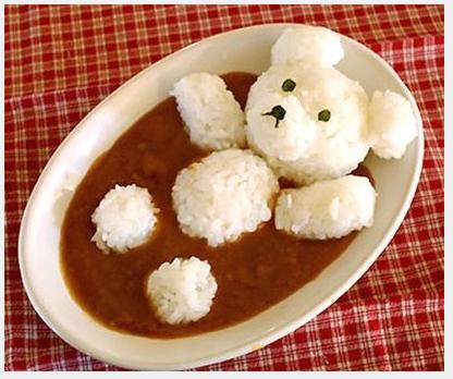rice and bean bear