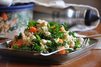 grain and bean salad
