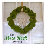 Springtime Moss Rock Wreath