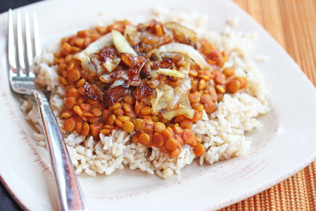 rice-lentils-caramelized-on