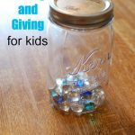 A lesson for kids about saving and giving