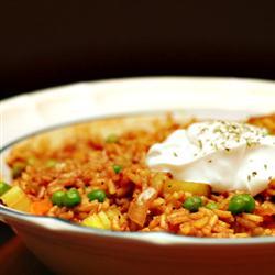 vegan curried rice
