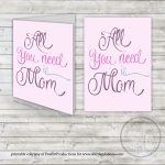 Free Printable :: Mother's Day Card