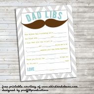 Dad Libs :: Free Printable