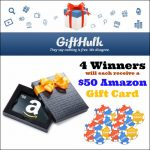 GiftHulk {Giveaway} $50 Amazon giftcard