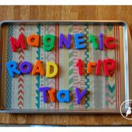 DIY Road Trip Trays