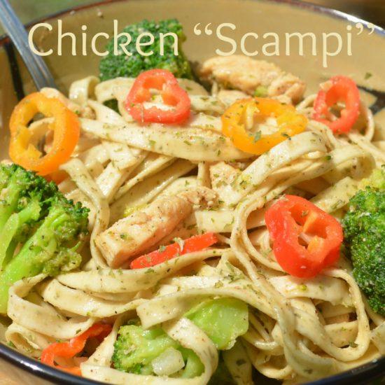 chicken-scampi