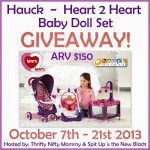 Adorable Baby Doll Set {Giveaway}