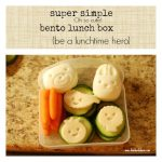 Simple and Cute Packed Bento Lunches