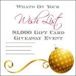 Wish List {Giveaway}