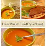 Slow Cooker Tomato Basil Soup