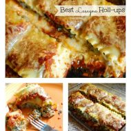 The Best Lasagna Roll Ups