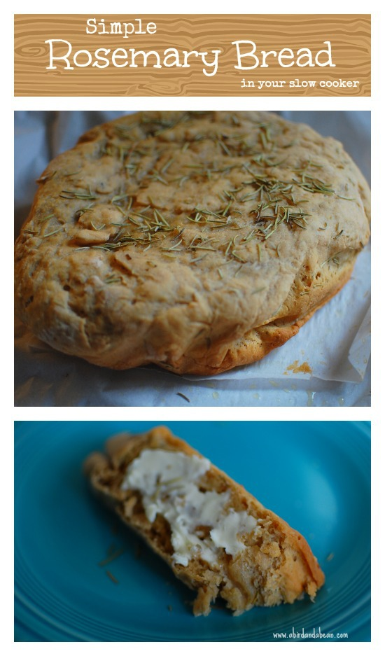 rosemary crock pot bread