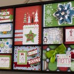 Christmas Shadowbox Tray Decor