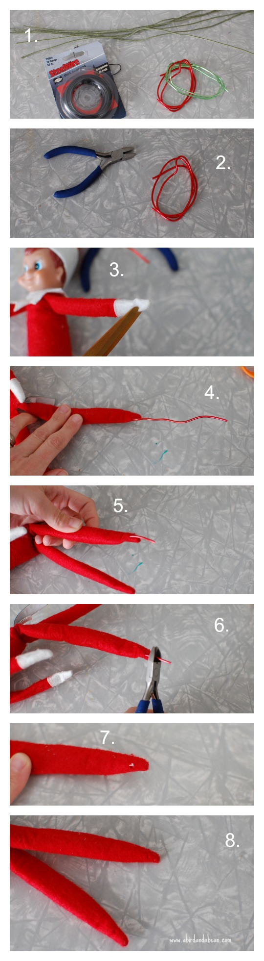 How to give your elf on the shelf bendy arms legs for Elf shelf craft show