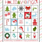 Holiday Bingo Set :: Free Printable