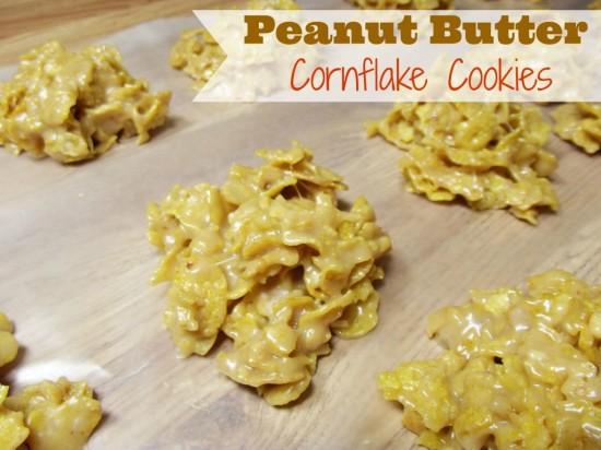 peanut butter cornflake