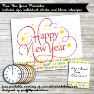 New Years Eve Party {Free Printable}