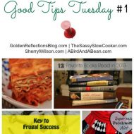 Good Tips Tuesday 1/13