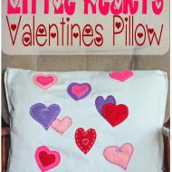 Valentines Pillow Sewing Tutorial