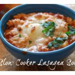 Slow Cooker Lasagna Soup