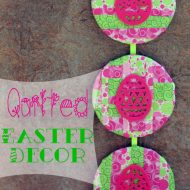 Simple Quilted Easter Decor