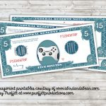 Printable Money Incentives :: Free Printable