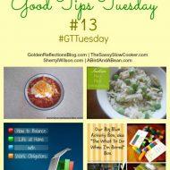 Good Tips Tuesday 4/7