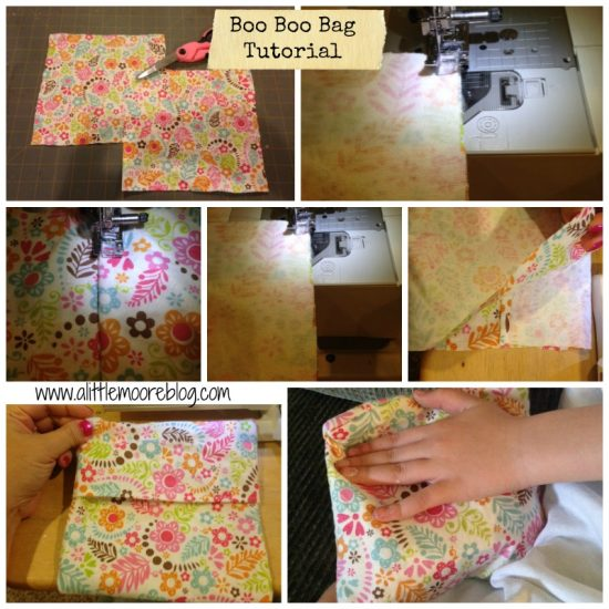 boo boo bag tutorial by A Little Moore