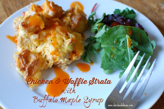 chicken and waffle strata 3