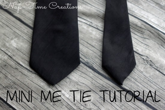 kids tie tutorial