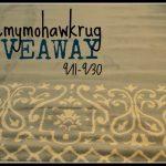#ilovemymohawkrug {Giveaway}