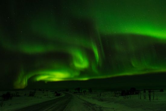 The light around the Lofoten Islands