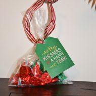 Printable Christmas Tags For Treat Bags