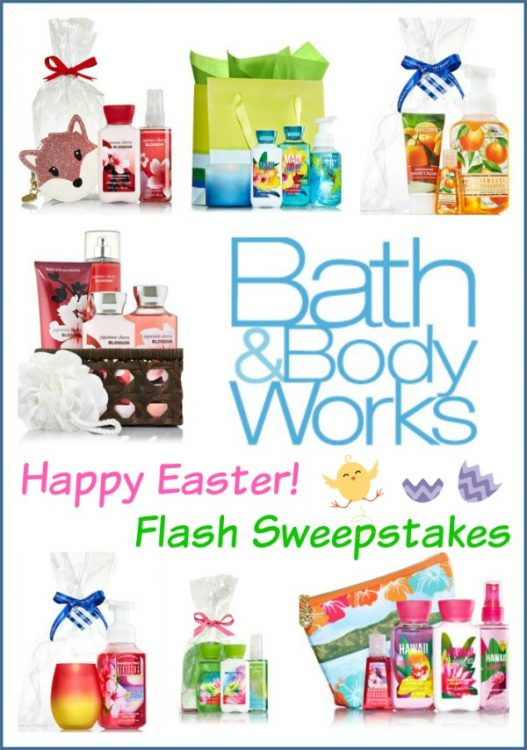Bath And Body Works Easter Giveaway A Bird And A Bean