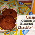 Gluten-Free Almond Butter Chocolote Chip Cookies