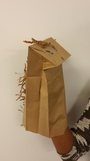 paper bag horse