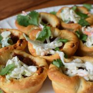 Asian Slaw BBQ Muffins + The Easiest BBQ Pizza Ever